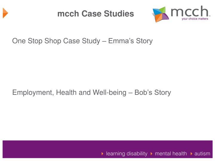 mcch Case Studies