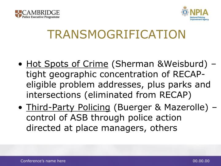 TRANSMOGRIFICATION