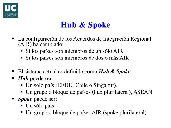 La configuración de los Acuerdos de Integración Regional (AIR) ha cambiado: