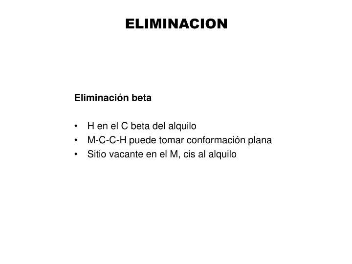 ELIMINACION