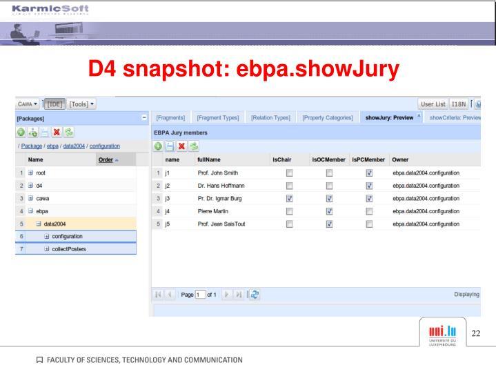 D4 snapshot: ebpa.showJury