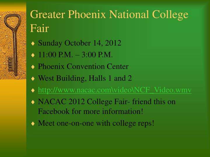 Greater Phoenix National College Fair