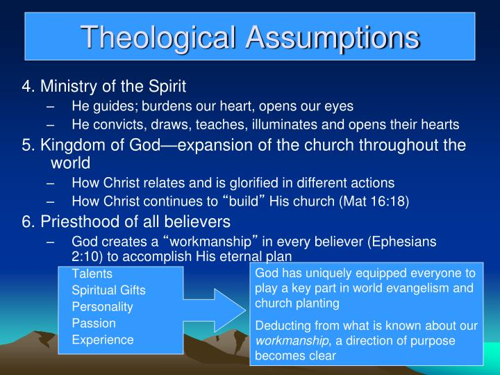 God has uniquely equipped everyone to play a key part in world evangelism and church planting