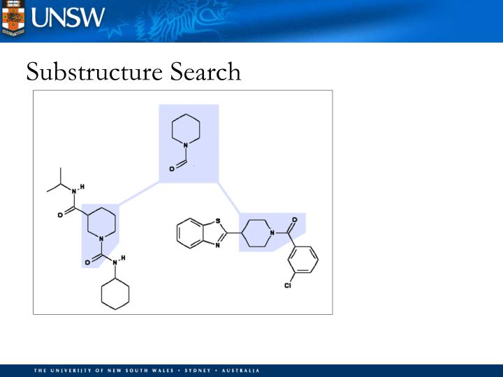 Substructure Search