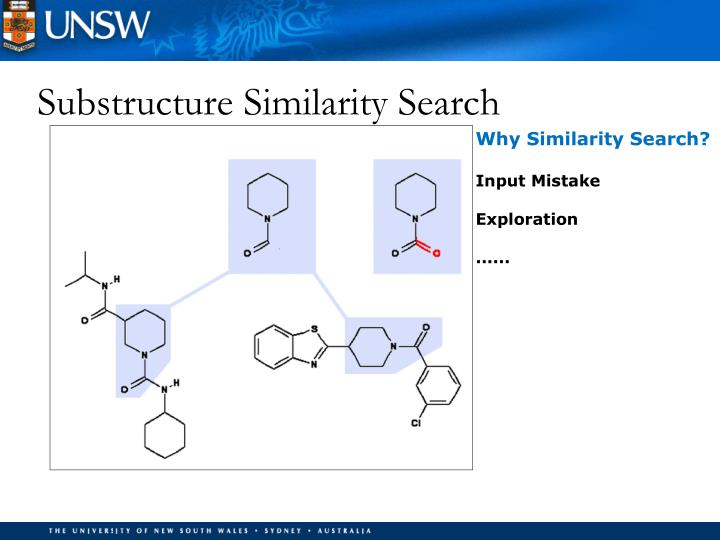 Substructure Similarity Search