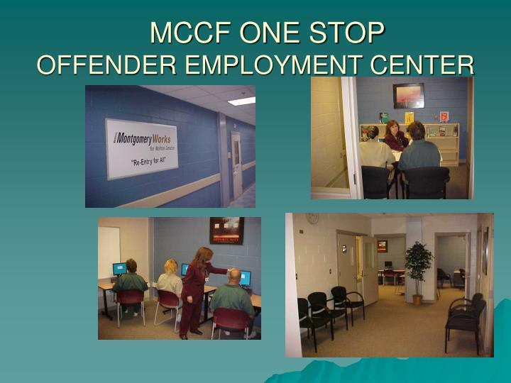 MCCF ONE STOP