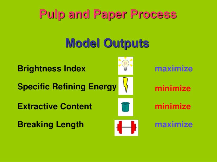 Pulp and Paper Process