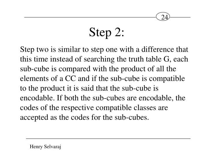 Step 2: