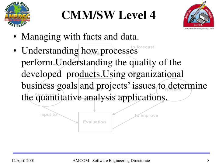 CMM/SW Level 4