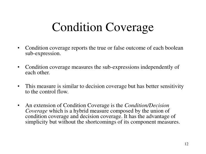 Condition Coverage