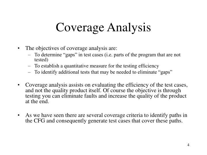 Coverage Analysis