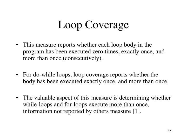 Loop Coverage