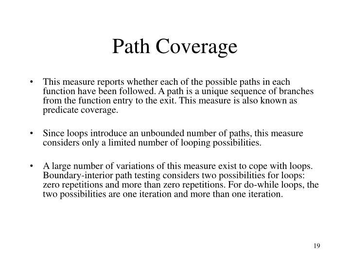 Path Coverage