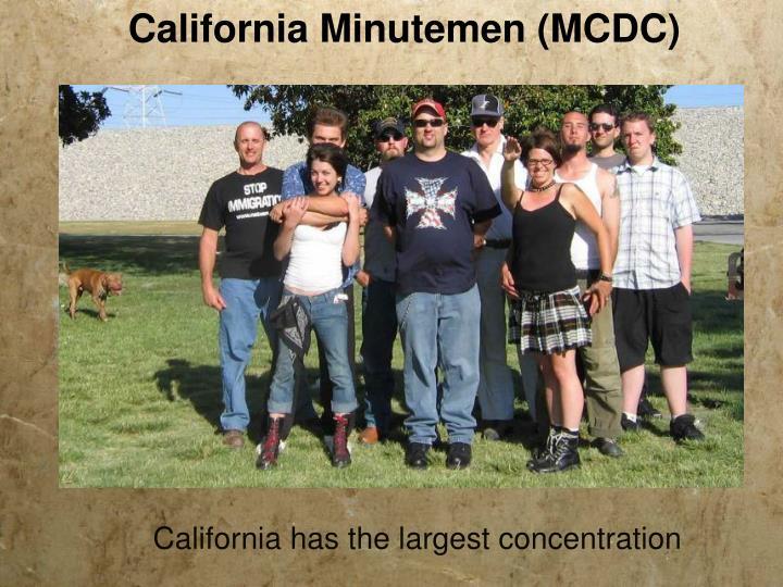 California Minutemen (MCDC)