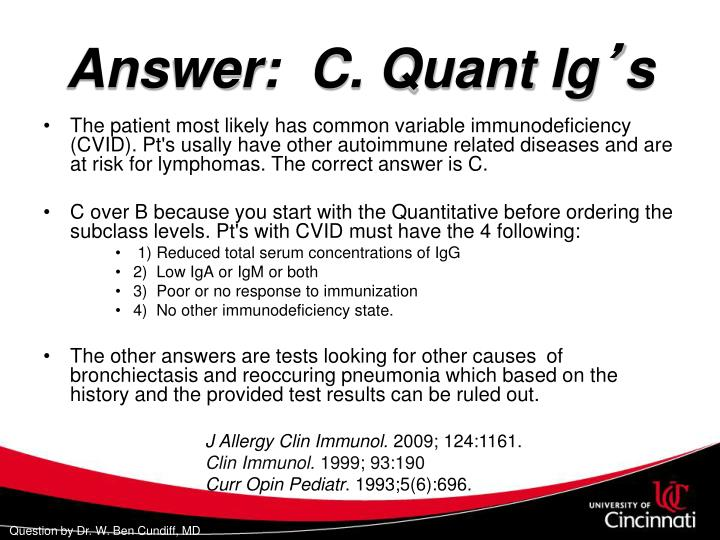 Answer:  C. Quant Ig