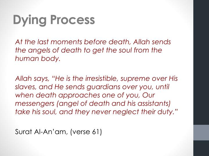 Dying Process