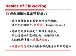 basics of flowering