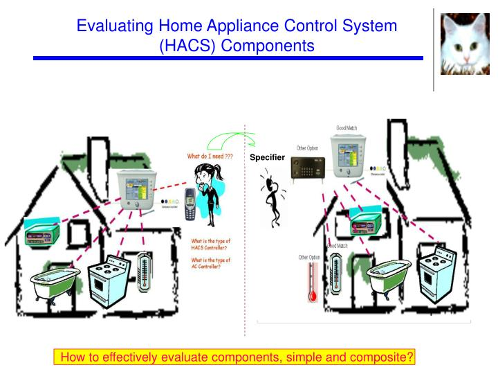 Evaluating Home Appliance Control System (HACS) Components