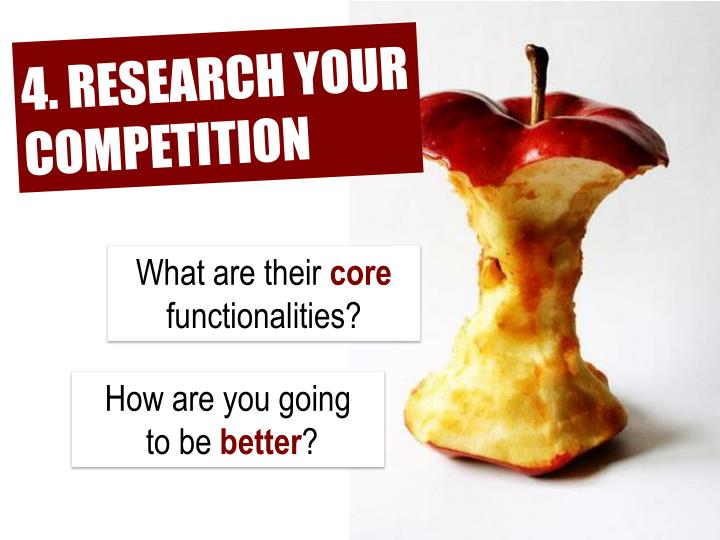 4. RESEARCH YOUR