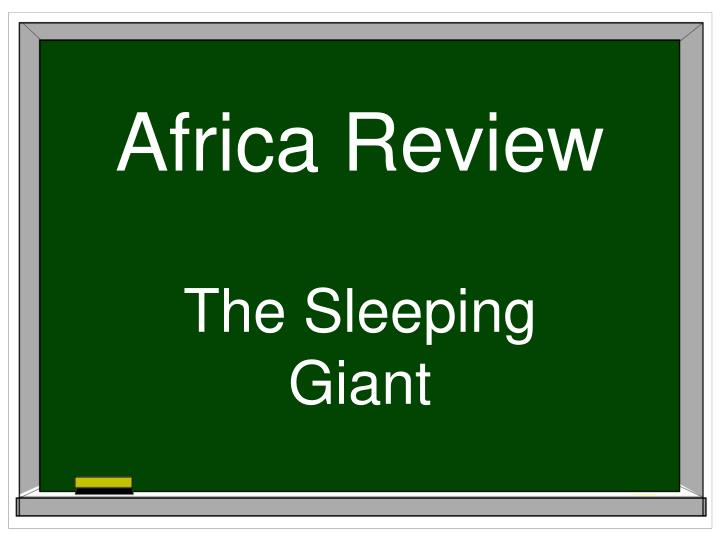 africa review n.