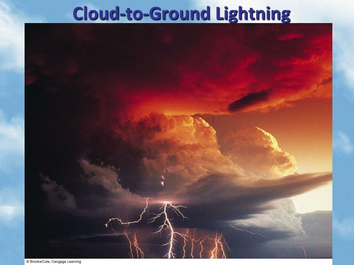 Cloud-to-Ground Lightning