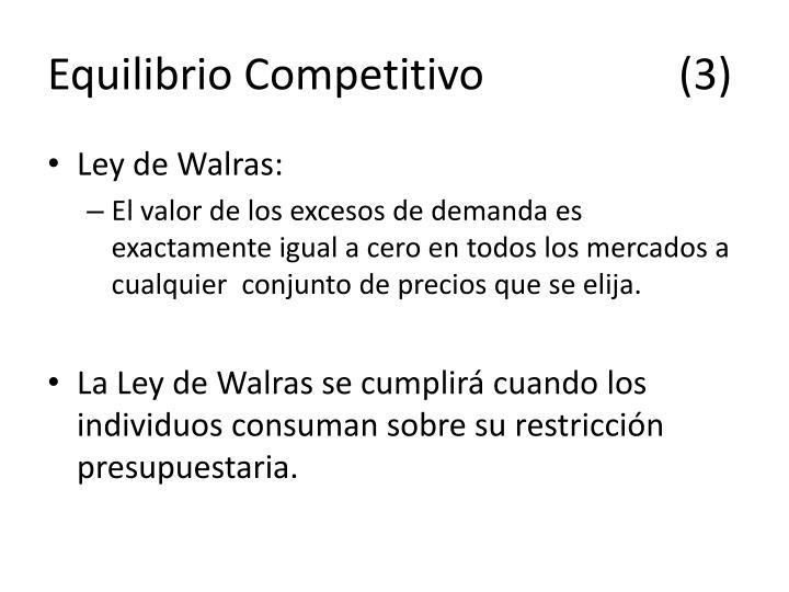 Equilibrio Competitivo(3)