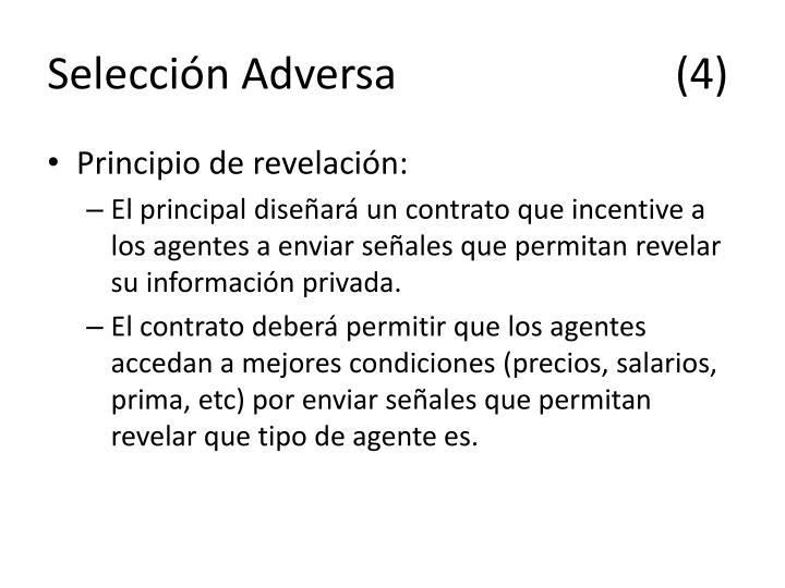 Selección Adversa(4)