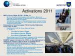 activations 2011