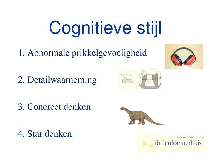 Cognitieve stijl