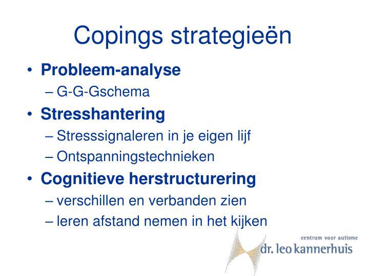 Copings strategieën