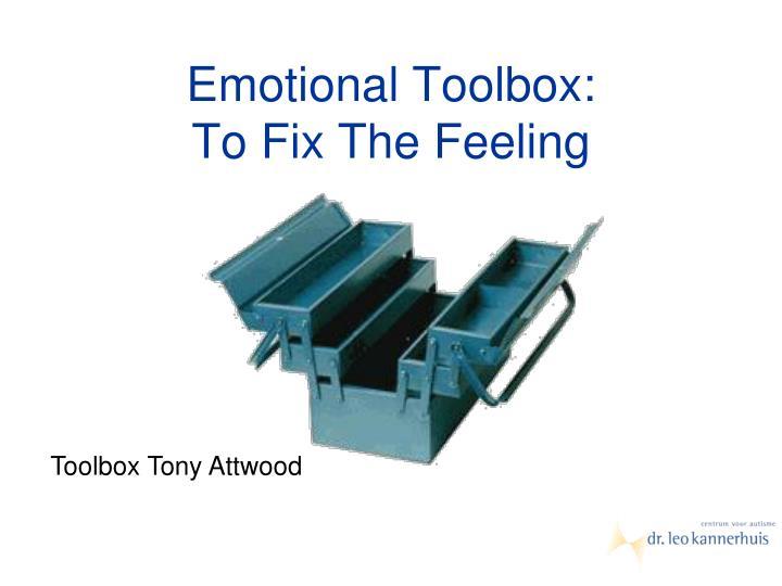Emotional Toolbox: