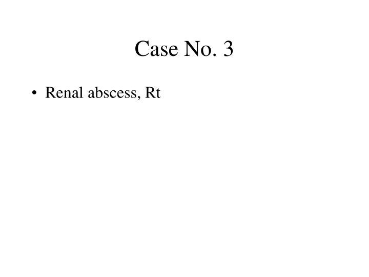 Case No. 3
