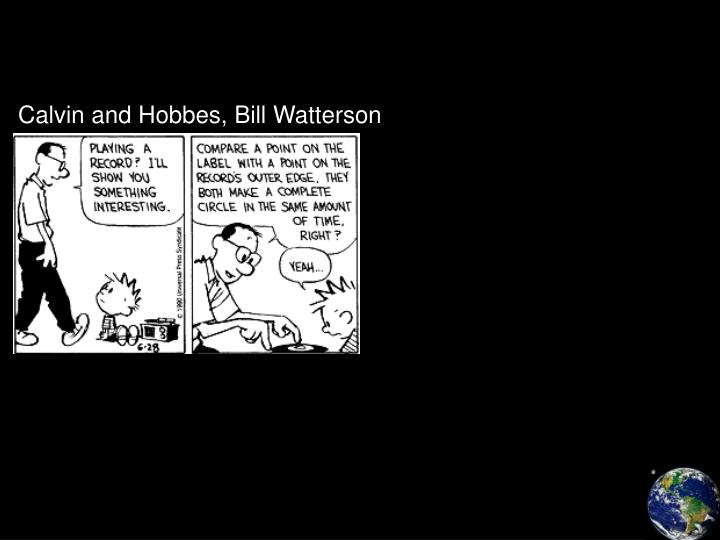 Calvin and Hobbes, Bill Watterson