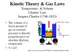 kinetic theory gas laws temperature volume charles law jacques charles 1746 1823