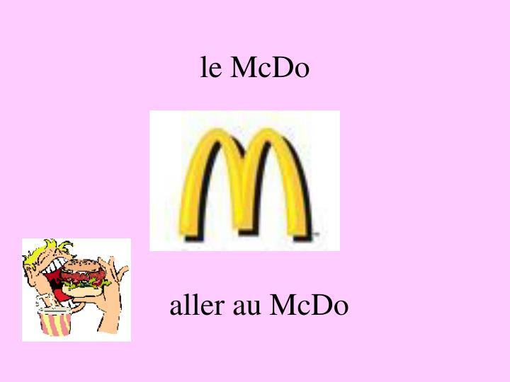le McDo