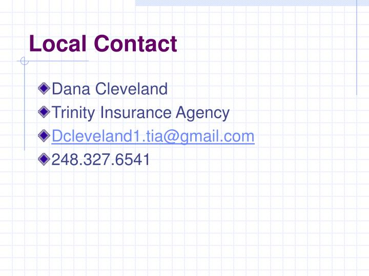 Local Contact