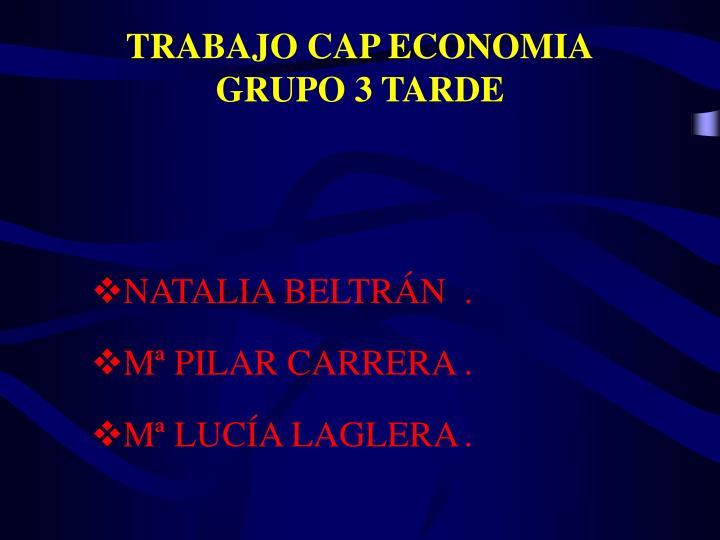 TRABAJO CAP ECONOMIA