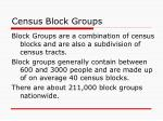 census block groups
