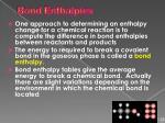 bond enthalpies1