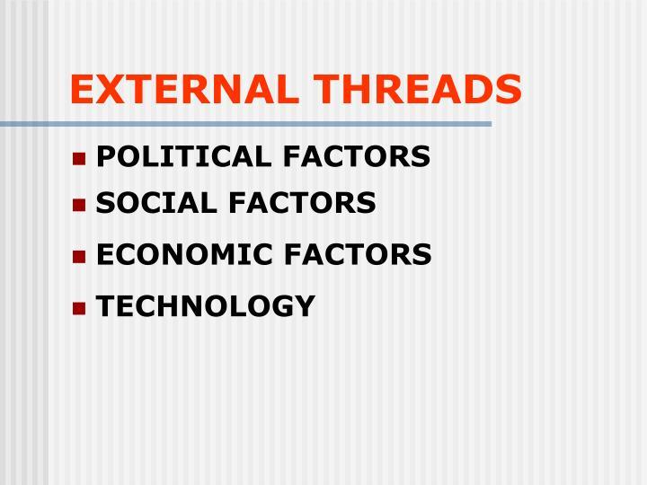 EXTERNAL THREADS
