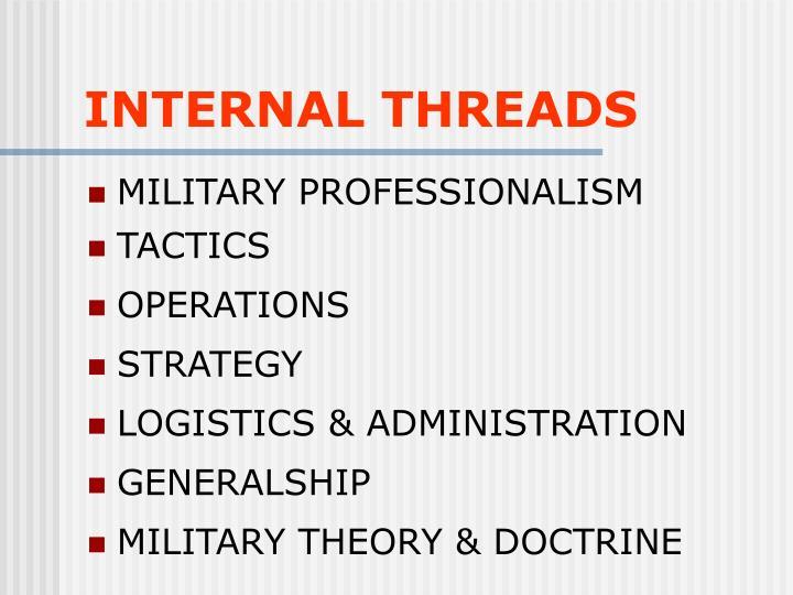 INTERNAL THREADS