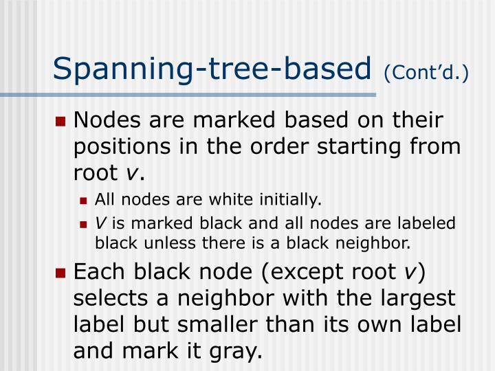 Spanning-tree-based