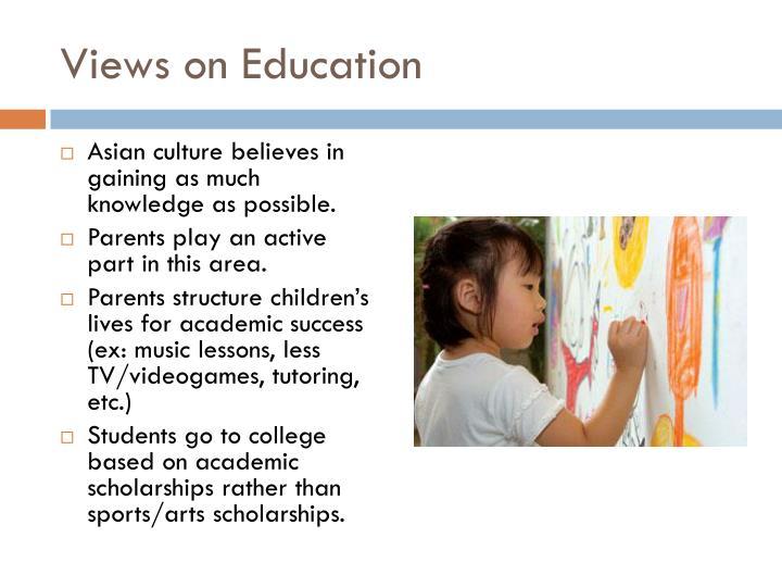 Views on Education
