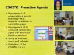 cogito proactive agents
