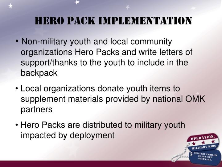 Hero Pack Implementation