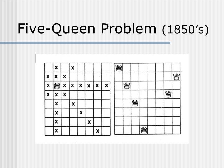 Five-Queen Problem