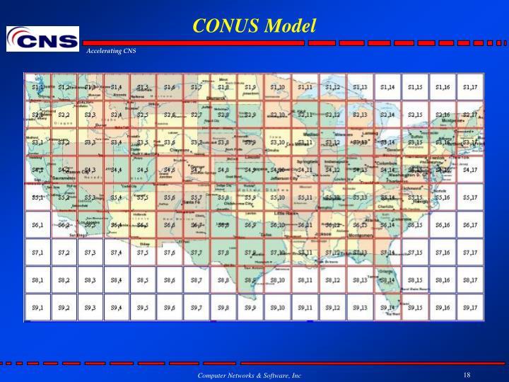 CONUS Model
