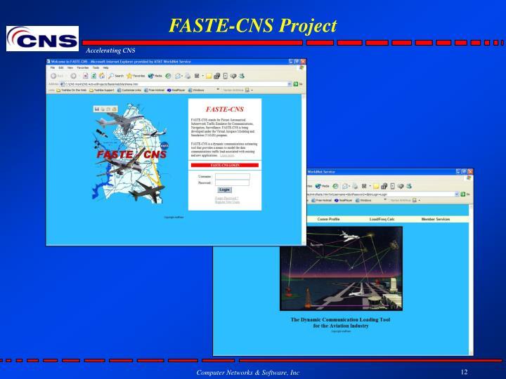 FASTE-CNS Project