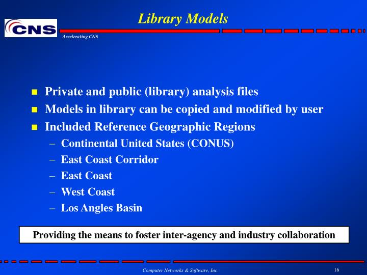 Library Models