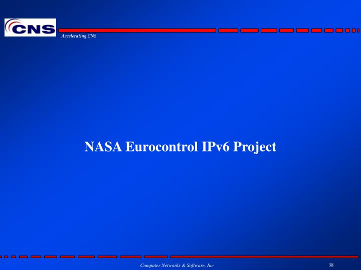 NASA Eurocontrol IPv6 Project